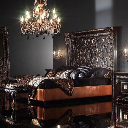 Doppelbett BK4020AB schwarz